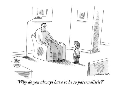 paternalistic relationship definition